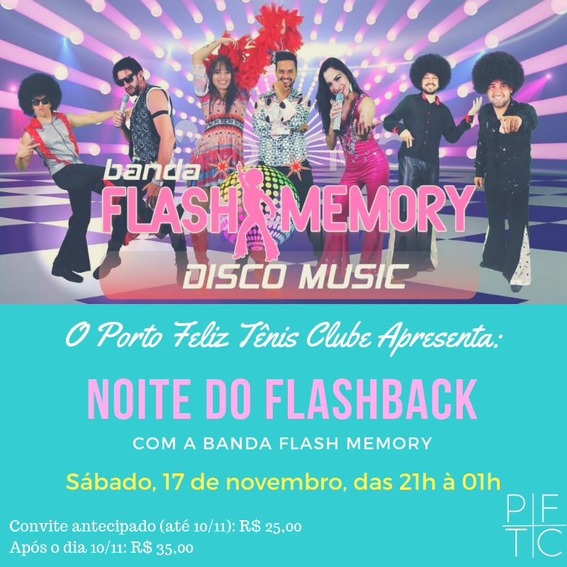 NOITE DO FLASHBACK